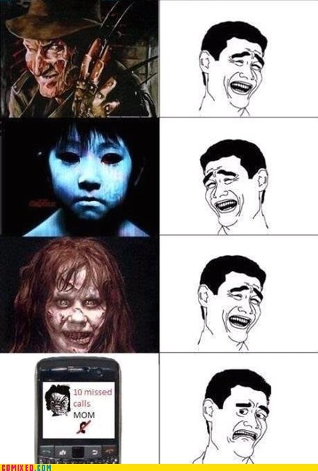 horror movies,missed call,mom,scary,the internets