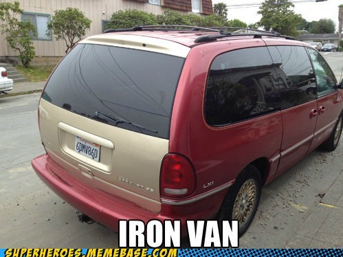 fly iron man paint job Super-Lols van - 6469586176