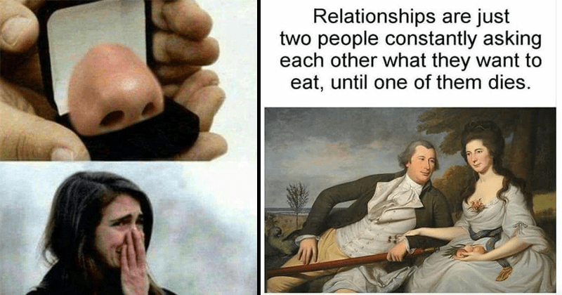 Funny and random memes.