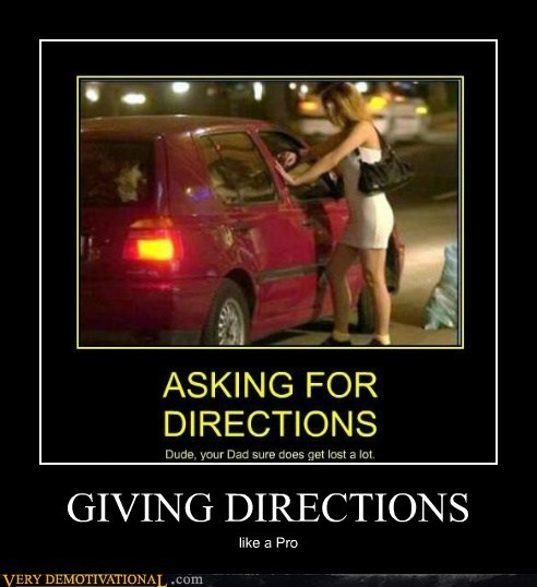 giving directions hilarious lady of the night pro - 6469647872