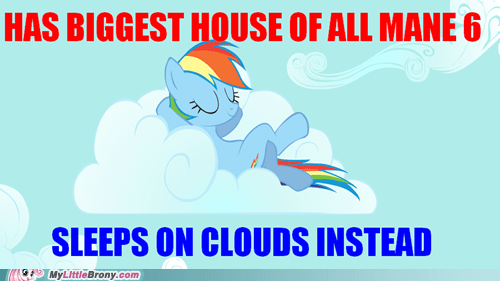 clouds mane 6 rainbow dash swag the internets - 6469651712