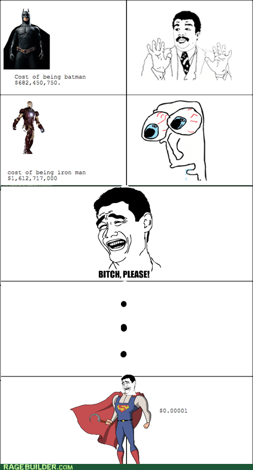 batman iron man Rage Comics superheroes superman - 6469711872