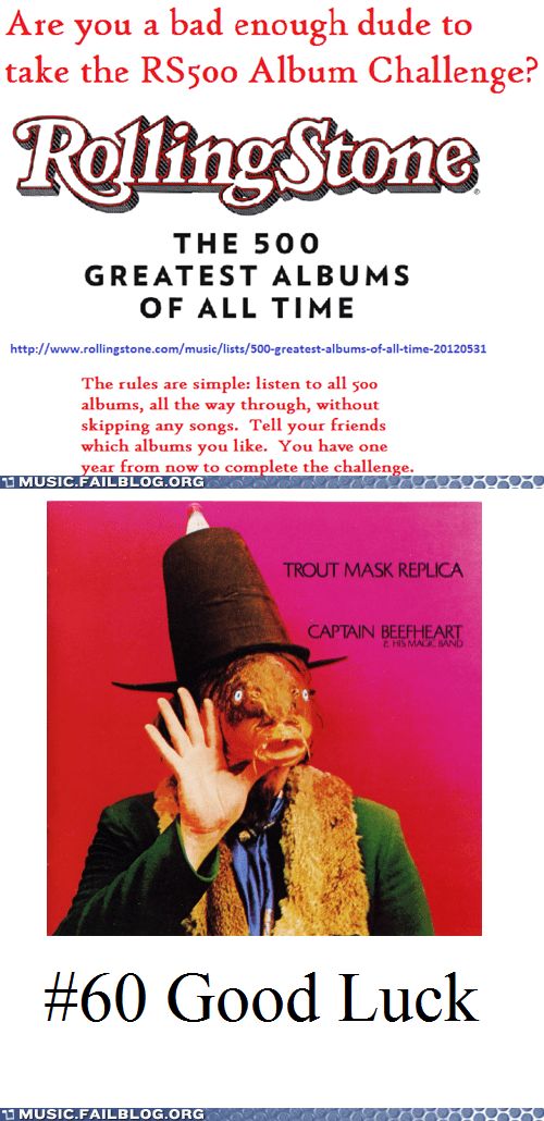 captain beefheart,rolling stone,trout mask replica