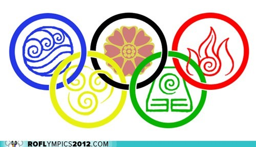 Avatar,fire nation,olympic rings,the last airbender
