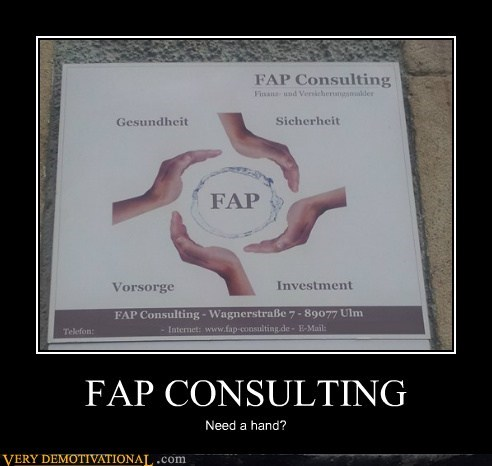 consulting,fap,hand,Pure Awesome