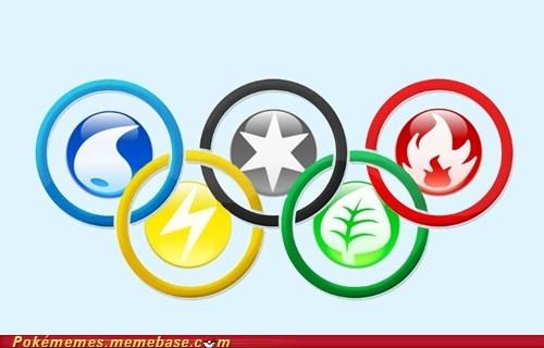 battling best of week crossover energy olympics Pokémon pokemon types - 6469855488