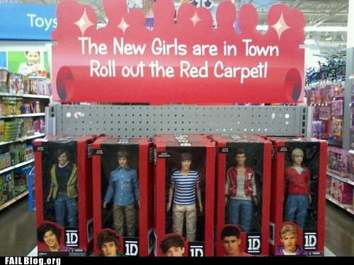 fail nation g rated new girls one direction toys - 6469865984