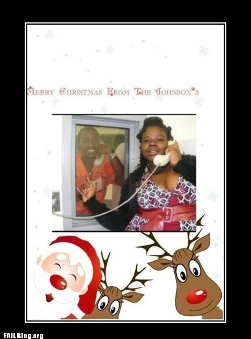 christmas card prison rudolph the red-nosed rei rudolph the red-nosed reindeer santa clause
