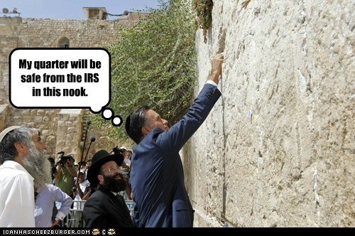 Israel judaism Mitt Romney political pictures - 6470104064