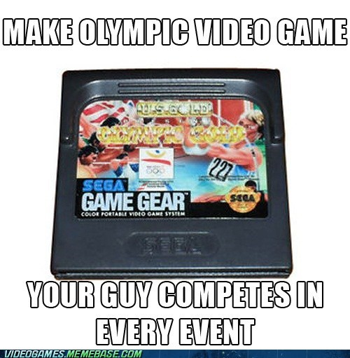 athlete meme no competition olympics video game - 6470146304