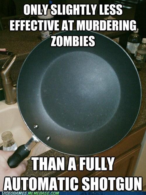 frying pan left 4 dead 2 meme valve zombie - 6470148864
