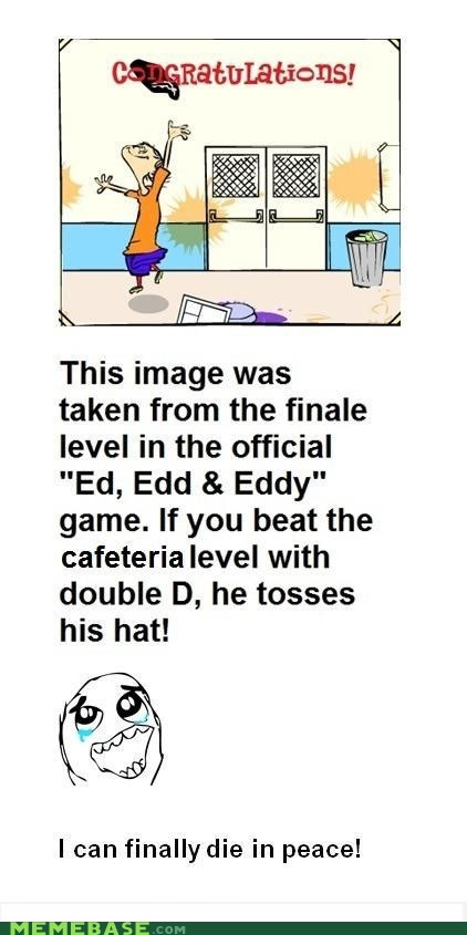 ed edd and eddy double d hat video games die in pieces childhood