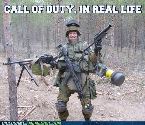 call of duty impossibru IRL