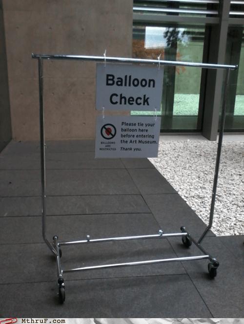 art museum balloon check museum - 6470263296