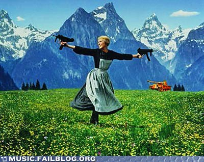 guns,sound of music,tank,the sound of music