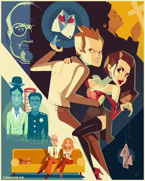 community,Fan Art,inspector spacetime,six seasons and a movie