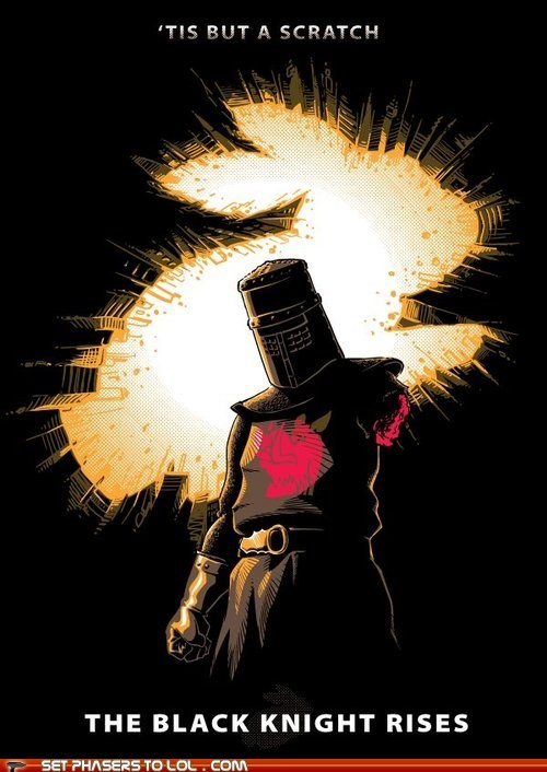 batman,best of the week,black knight,monty python and the holy,scratch,the dark knight rises