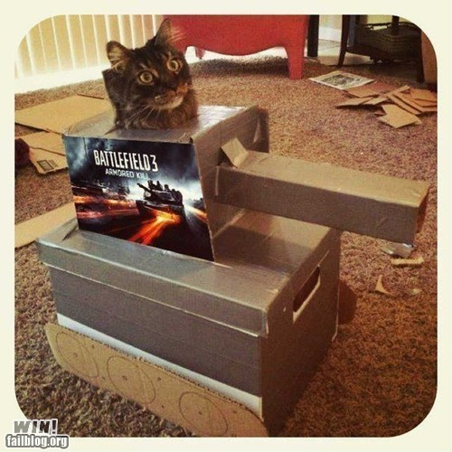 battlefield cat custom tank - 6470747136