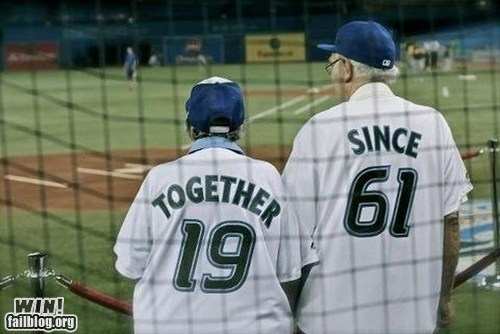 adorable,baseball,cute,dawww,old people rock