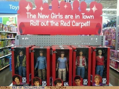 dolls girls IRL one direction sign - 6471037952