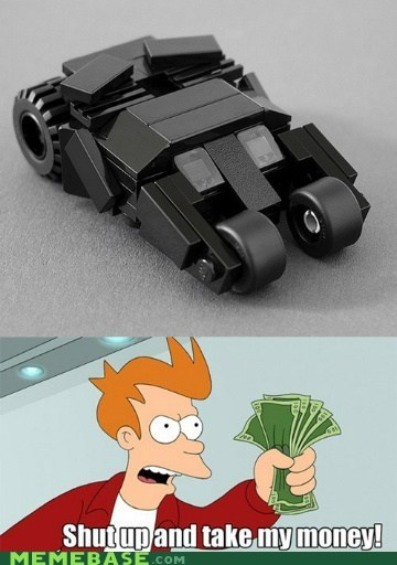 awesome batmobile lego mini - 6471447040