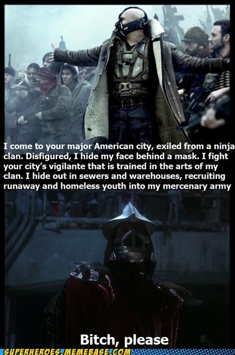 bane batman Dark Knight Rises shredder Super-Lols - 6471474432