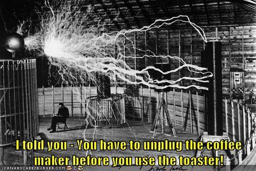 electricity lightning sparks tesla - 6472117760