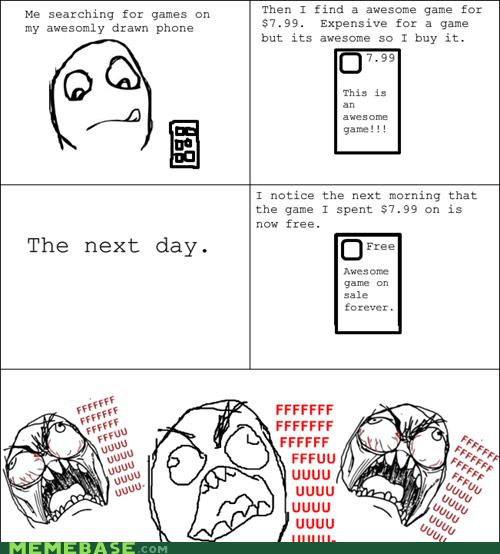 App,fu guy,Rage Comics,smartphone