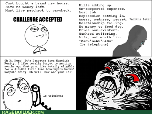 Challenge Accepted,money,Rage Comics,raisin rage