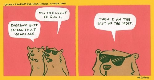 bear bears comic legit too legit to quit