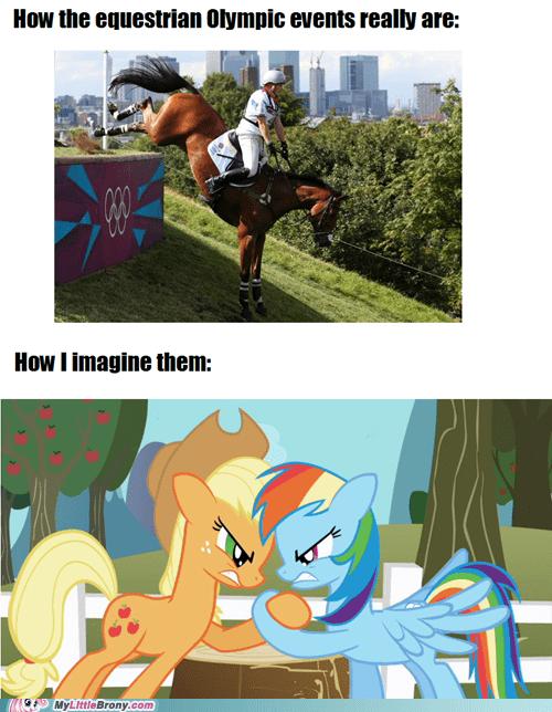applejack equestrian olympics olympics rainbow dash the internets - 6472342272