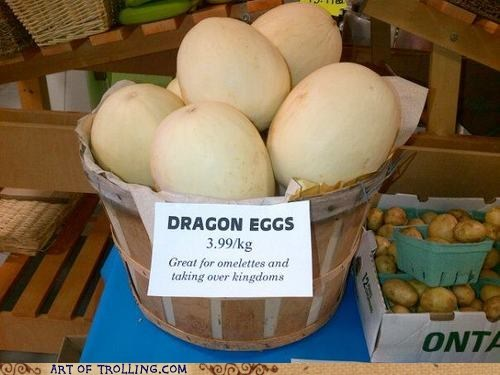 dragon eggs for sale IRL sign - 6472373760