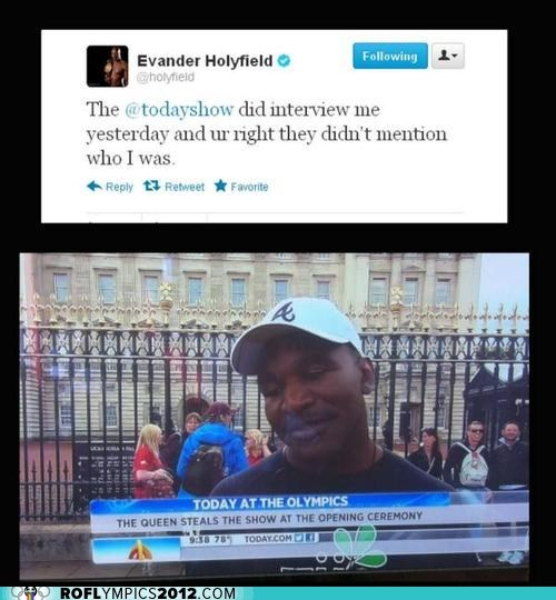 celeb evander holyfield funny London 2012 olympics sports tweet twitter - 6472376320