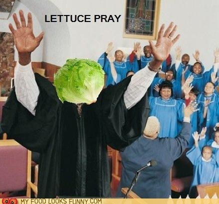 church head lettuce preacher