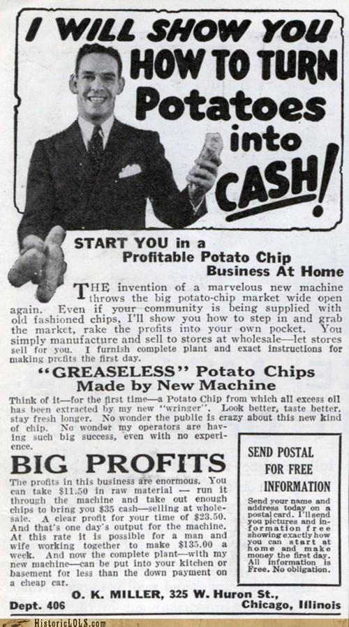 Ad cash money potatoes - 6472443648