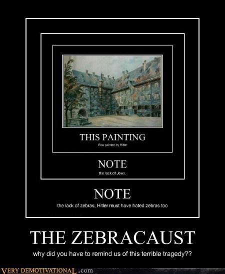 hilarious hitler holocaust zebra - 6472547072