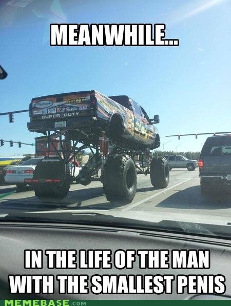 compensating lifted Memes truck - 6472581120