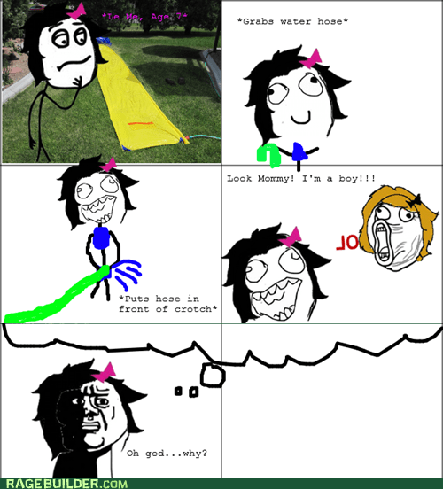 oh god why,Rage Comics,slip n slide,that looks naughty
