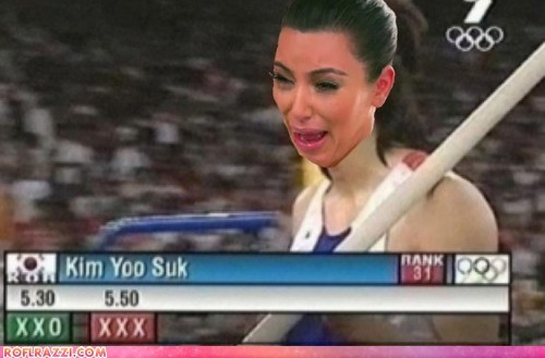 celeb funny kim kardashian London 2012 olympics reality tv TV - 6472606464