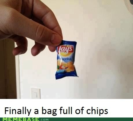 chips full Memes tiny bag - 6472622336