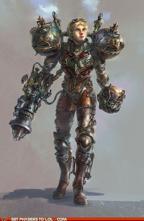 Fan Art Metroid nintendo samus aran Steampunk video games