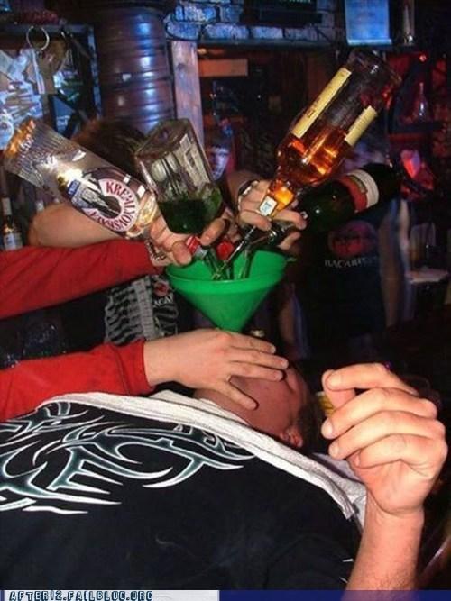after 12 bong funnel liqueur liquor Rum vodka whiskey - 6472839424