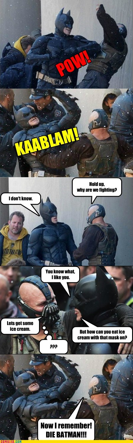 bane batman best of week kablam TEH GODDAMN BATM TEH GODDAMN BATMAN the dark knight rises - 6472843264