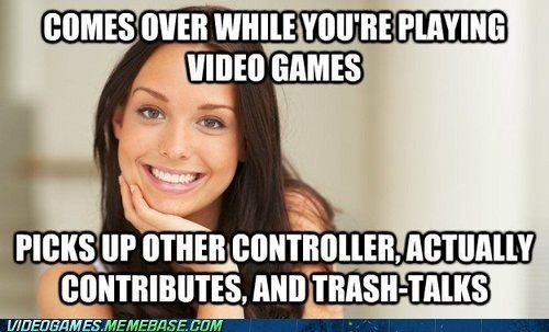 gamer girlfriend great gamer girlfriend meme - 6472992512