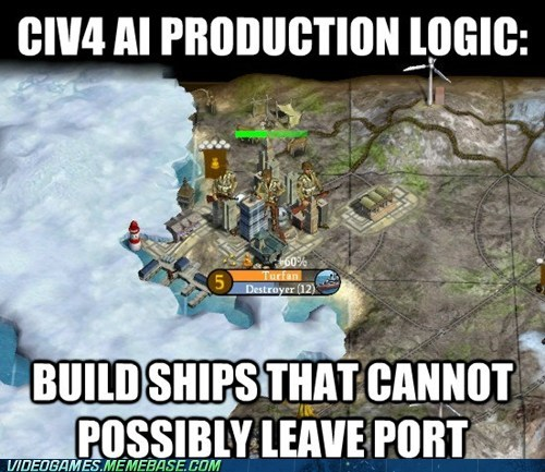 ai Civ IV civilization logiv meme PC port