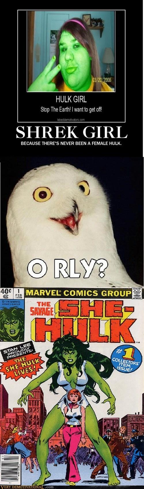 hilarious,Reframe,she hulk,shrek