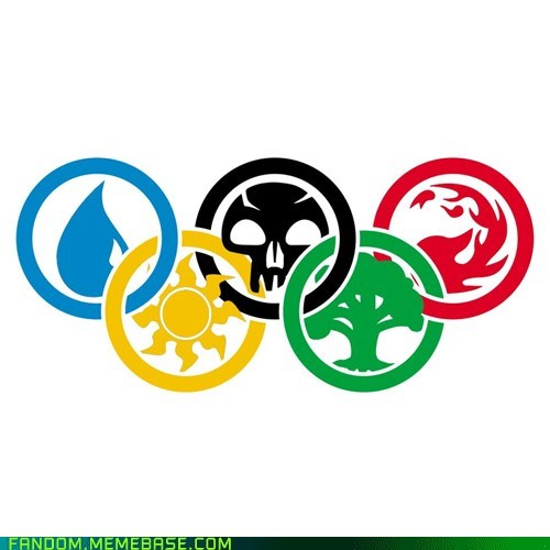 Fan Art London 2012 magic the gathering olympics - 6473147392