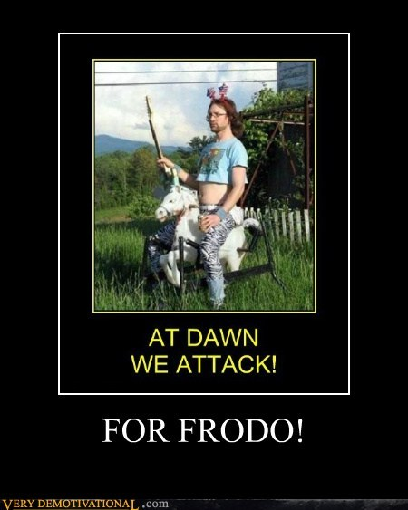 attack frodo hilarious ride