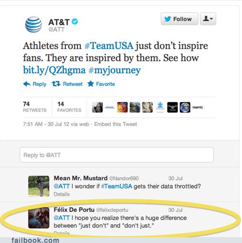 america att at&t athletes olympics patriotism usa - 6473415936