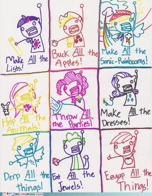 all the things drawings meme - 6473629952